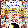 Animation des anniversaires a casablanca
