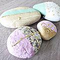 Diy: les jolies pierres peintes...