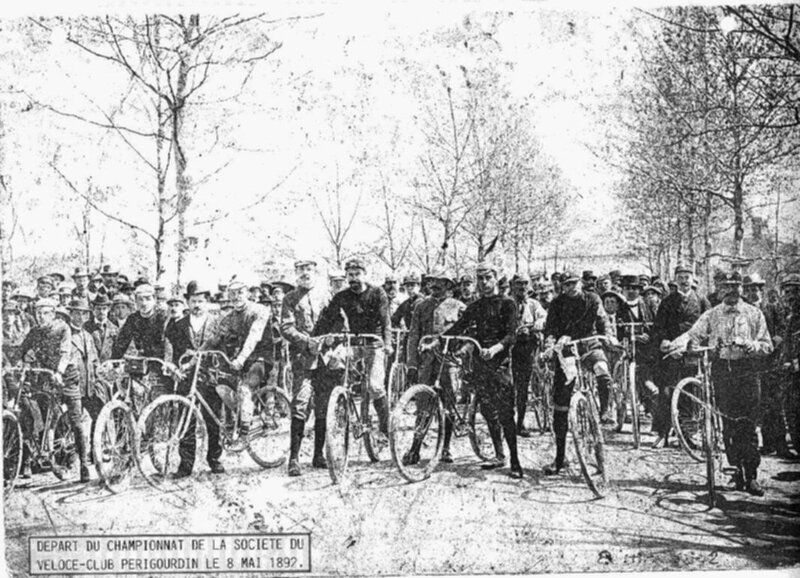 PGX Le Véloce Club Périgourdin en 1892