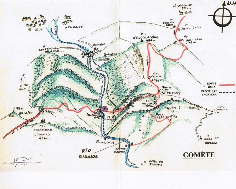 Réseau COMET 1941-1945