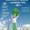Salon du bien être au naturel et des produits bio
