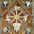 1372 Roue de la Fortune - pavement cathédrale de Sienne - wikimedia