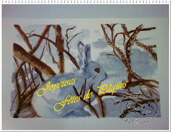 Lapin Joyeuses PâquesTP