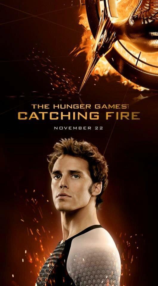 Finnick Odair Catching Fire poster 02