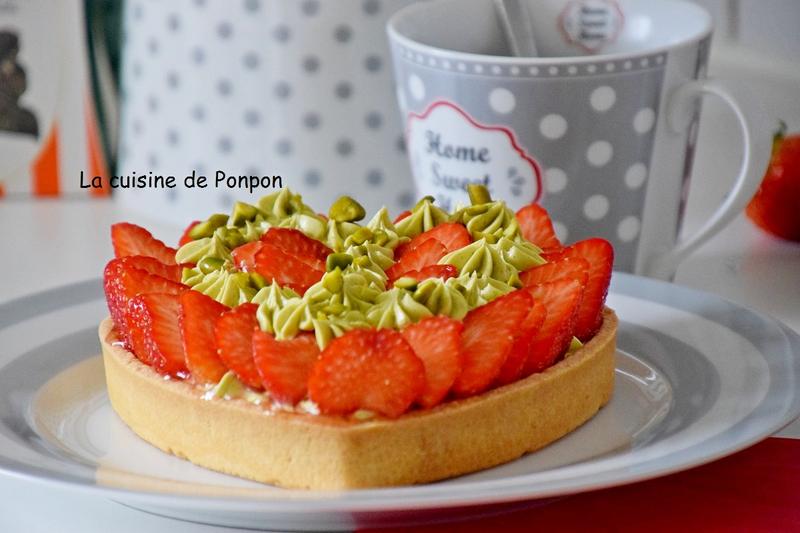crème mousseline et fraises pàg (14)