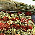 Accompagnement de légumes : comme un tian... en plus simple