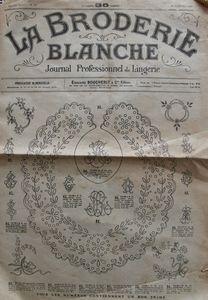 La broderie blanche n° 227 - 1er février 1919 (1)