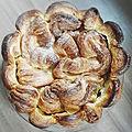La galette feuilletée amandes vanille de michaël bartocetti