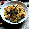 Aloo matar: pommes de terre et petits pois punjabis
