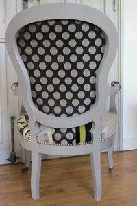 cabriolet patchwork tapissier côté sièges