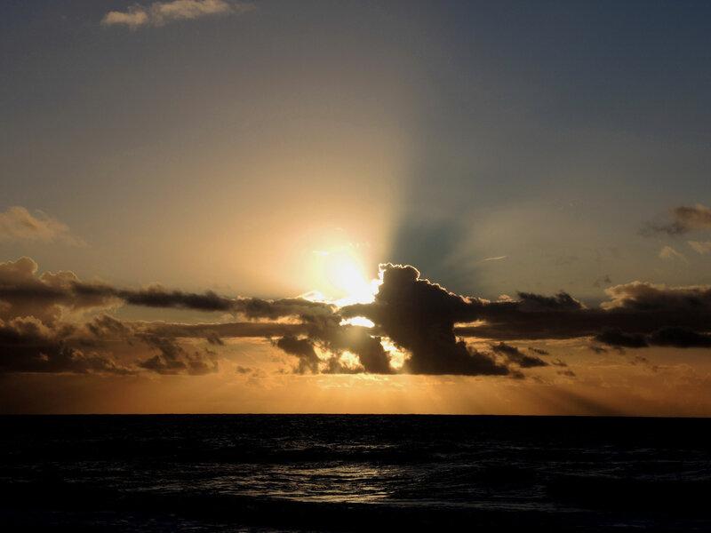 Hossegor, plage Sud, soleil nuages hiver (40)