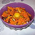 Bibimbap végétarien express