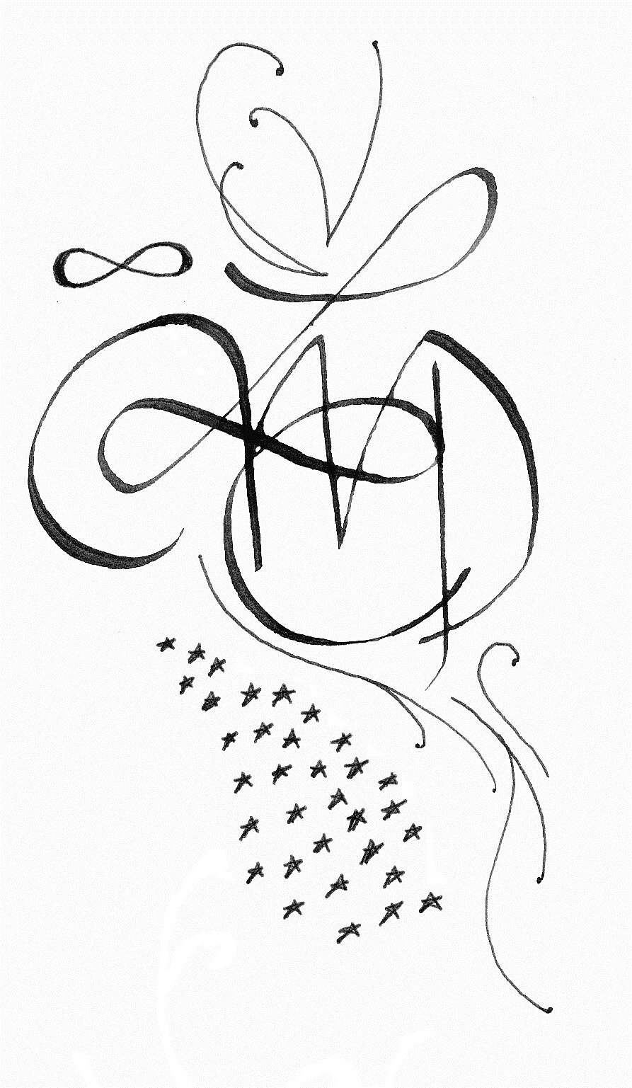 L Association Emily Calligraphy