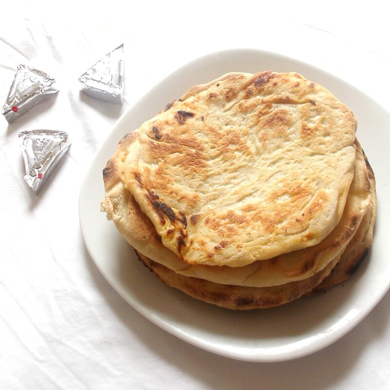 recette des cheese naan