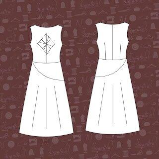 Stepalica Patterns - Nougat Dress 2