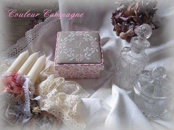 boite à bijoux réalisée par Couleur campagne
