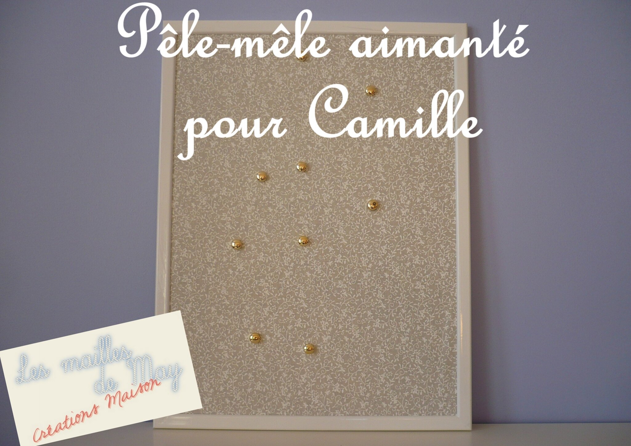 p le m le aimant pour camille photo de dans mon placard de bricolage les mailles de may. Black Bedroom Furniture Sets. Home Design Ideas
