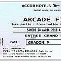 Arcade fire - samedi 28 avril 2018 - accorhotels arena (paris)