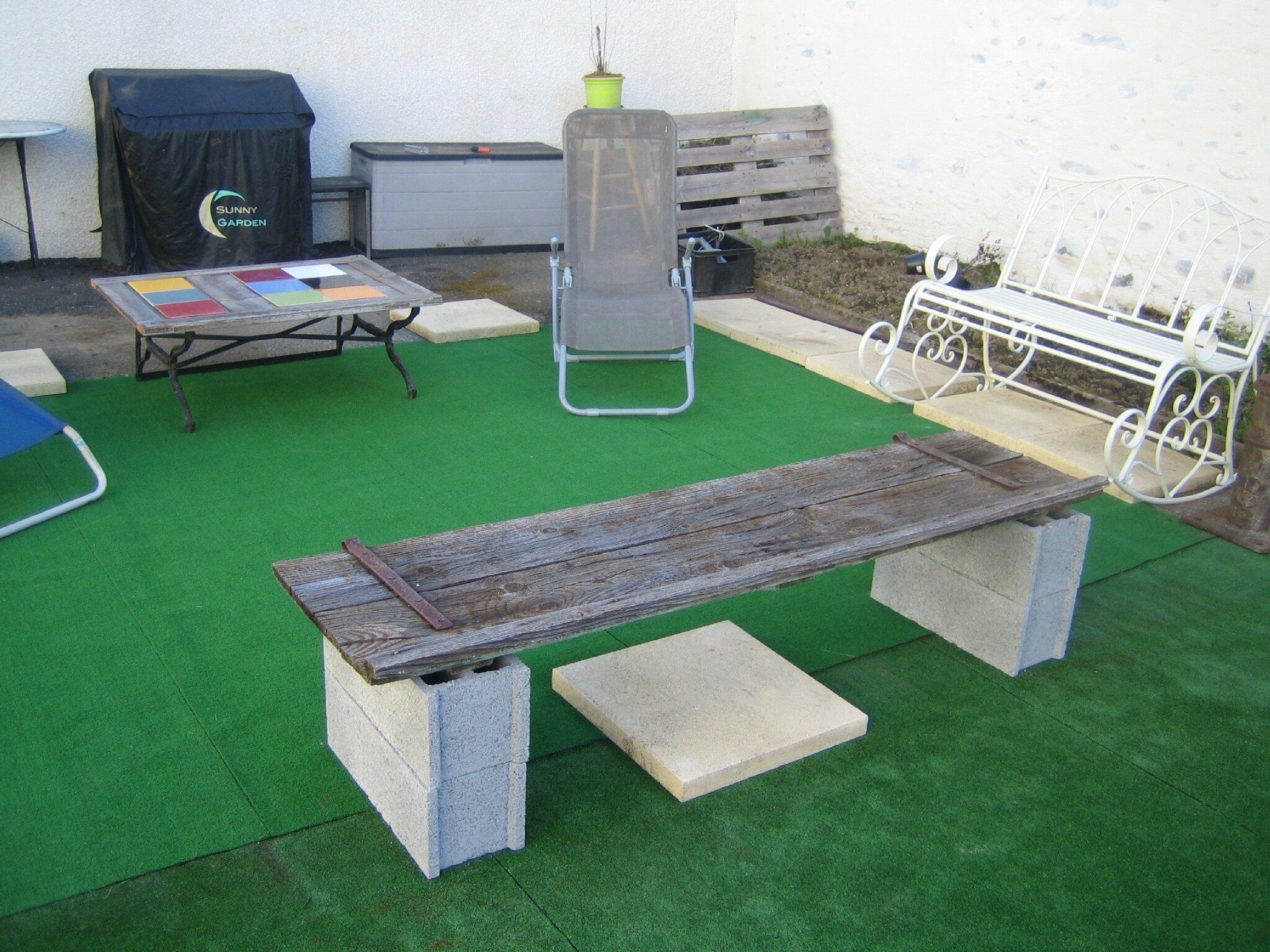 Table Basse Avec Parpaing printemps - bienvenue chez nous