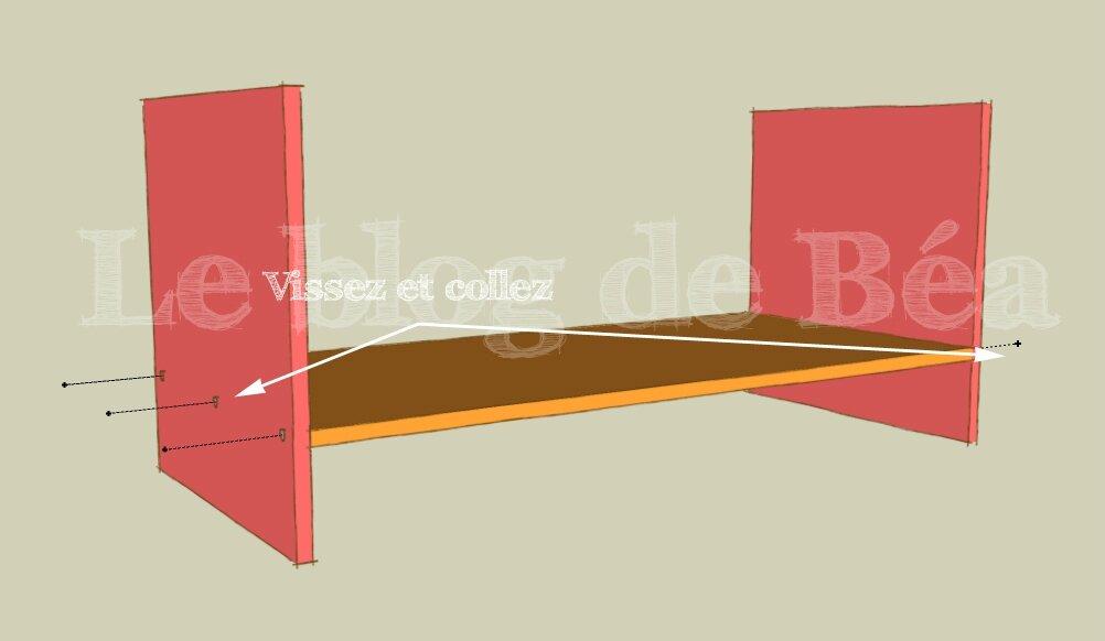 DIY vestiaire d'entrée en bois de palette et médium