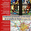Conférence-promenade sur les traces de la bataille de cholet