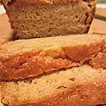 Cake moelleux aux pommes et à la cannelle (vegan/sans oeuf/sans lait)
