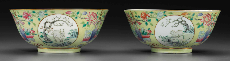 2014_NYR_02872_0971_000(a_pair_of_famille_rose_yellow-ground_sgraffiato_bowls_guangxu_six-char)