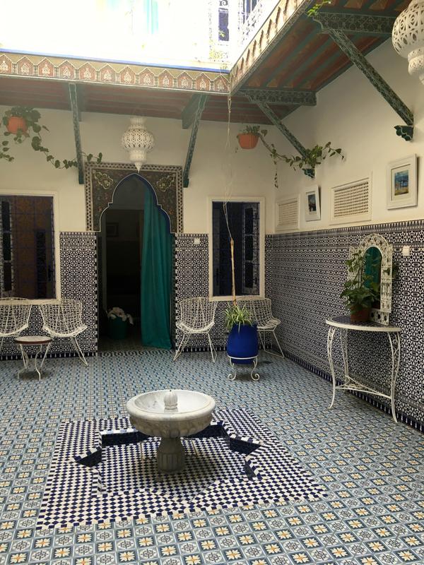 le riad Essaouira à Marrakech