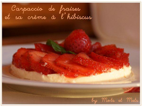 carrpaccio de fraises 1