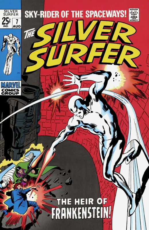silver surfer 1968 07