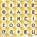 L'alphabet berbère