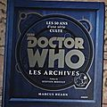 Doctor who : les livres
