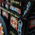 Charette traditionnelle décorée