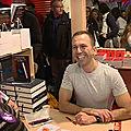 Succès fou des dédicaces au salon du livre de montreuil