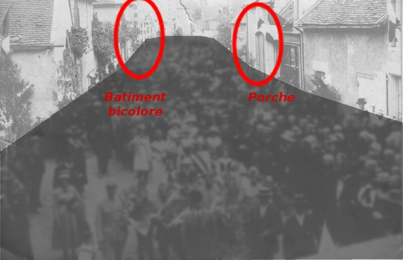 Martizay_19190803_Defile_Recto_IdentificationBatiments2