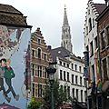 Bruxelles en bd