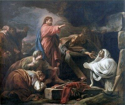 JlN-Jésus le Nazôréen ressuscite Lazare