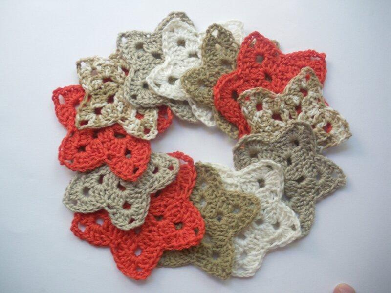 Etoiles crochet (4)