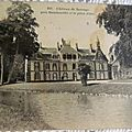 Sauvage - le chateau datée 1910