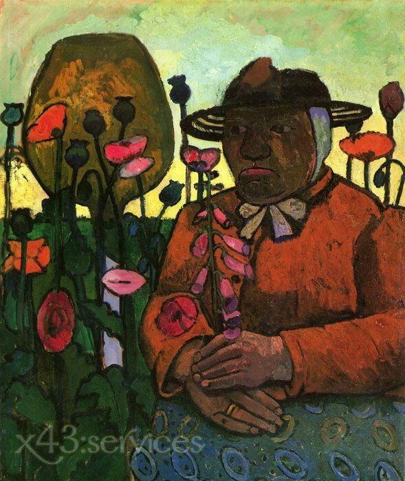 Paula-Modersohn-Becker-Old-Peasant-Woman-in-the-Garden