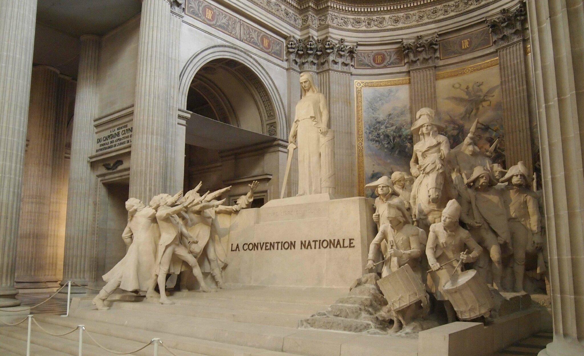 29 juillet 2017, Panthéon  Hommage à Robespierre.