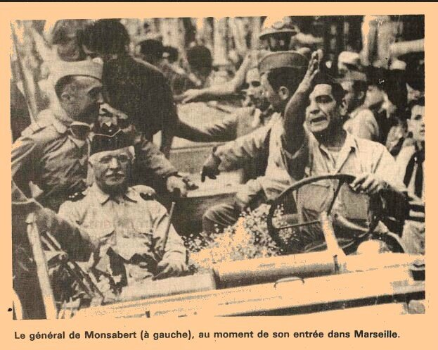 Gal Monsabert-Marseille -1944