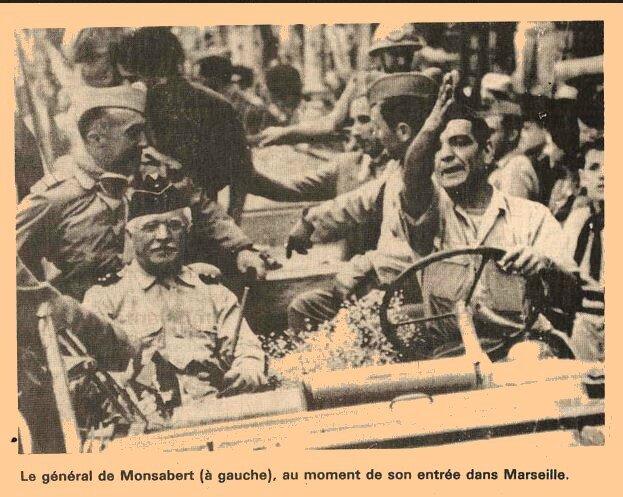 Gal Monsabert-Marseille -1944