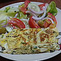 Omelette estivale fines herbes et fromage