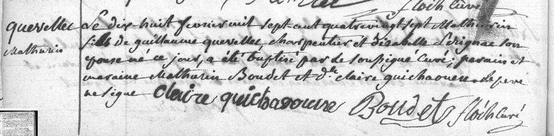 1787 N Brest Mathurin Quevellec