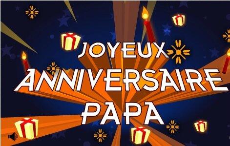 Joyeux Anniversaire Papa Les Gourmandises De Josiane