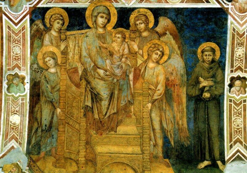 assisi-basilica-di-s-francesco-cimabue-madonna-degli-angeli-e-s-francesco