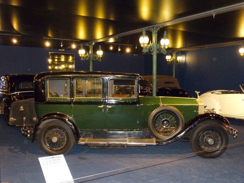 ROLLS ROYCE 20HP limousine 1925 Mulhouse (3)