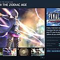 FFXII Steam