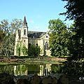Chapelle chateau de La Ferté Saint Aubin